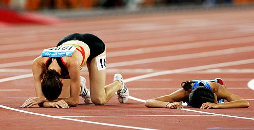 exhausted runners | Arete Coaching